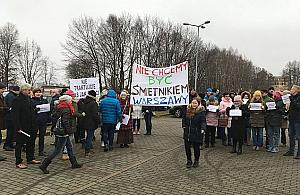 """Stanowcze NIE dla rozbudowy Bysia. """"Smr�d, py� i ha�as"""""""