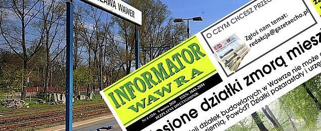 """""""Informator Wawra"""" zawieszony. Stawiamy na portal. W��cz powiadomienia"""