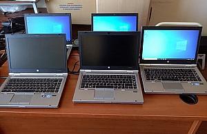 Pierwsze laptopy dotar³y do Legionowa. Dla kogo?