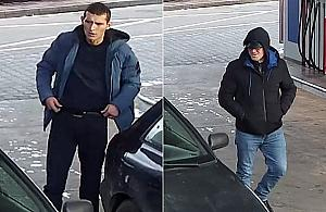 Zuchwa�a kradzie� na stacji benzynowej. Rozpoznajesz podejrzanych?