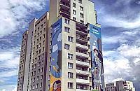 """Ogromny mural na Targ�wku. """"Patrzymy w przysz�o��"""""""