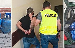 Z³odzieje butli gazowych w rêkach nadarzyñskiej policji