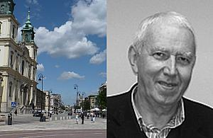 Zmar� Krzysztof Domaradzki, projektant Krakowskiego Przedmie�cia