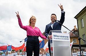 Wola popiera Trzaskowskiego. Rywale mocno w tyle