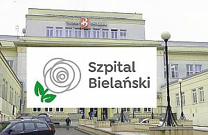 """Szpital Biela�ski zmienia logo. Ma generowa� """"pozytywny przekaz"""""""