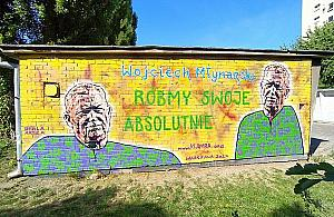 """Nowy mural na Woli. """"Róbmy swoje, absolutnie"""""""