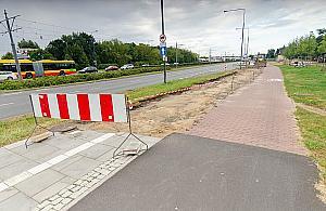 Asfalt zamiast kostki. Droga rowerowa dla dwóch dzielnic