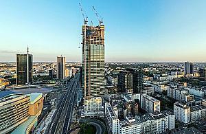 Rośnie najwyższy wieżowiec Europy. Na liczniku 220 metrów