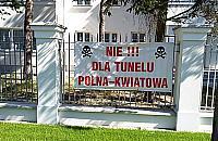 Czarne chmury nad tunelem Polna-Kwiatowa. Co zrobi miasto?