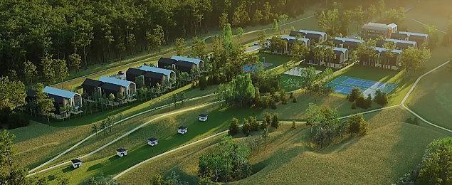 """""""Pandemiczna"""" inwestycja na leśnej polanie. Ruszyła budowa domów"""