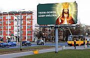 """Billboardy z wizerunkiem Jezusa. """"Mo¿e spowoduje pocz±tek modlitwy"""""""