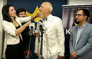 "Pose³ Janusz Korwin-Mikke: ""Og³aszam koniec pandemii"""