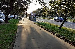 """Rowerem po Człuchowskiej. """"Mało kto się odważy"""""""