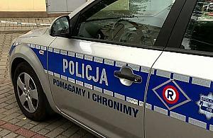 """Policja w sklepie na Chomiczówce. """"Kamery wszystko nagra³y"""""""