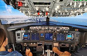 Zasi±d¼ za sterami Boeinga. Gdzie? Na Tarchominie