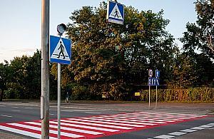 Zebry same wykryj± pieszych. Bezpieczniej na ulicach Bia³o³êki