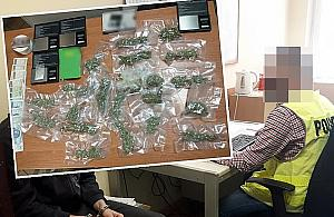 """Zatrzymany w centrum Woli. """"Sprzedawa³ marihuanê po 50 z³ za gram"""""""