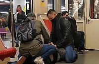 Brak maseczki i szarpanina. Co tak naprawdê sta³o siê w metrze?