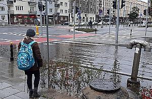 Górczewska p³ywa. Winna budowa metra?