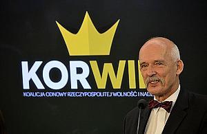 Janusz Korwin-Mikke ocenzurowany. Straci³ konto na Facebooku