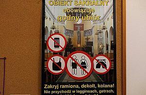"""""""Nie no¶ legginsów"""". Parafia wymaga godnego ubioru podczas mszy"""