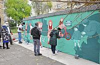 Mieli do¶æ wandali, namalowali murale
