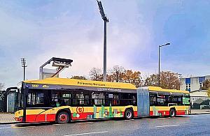 Ju¿ sto elektrycznych autobusów w stolicy. Co z ³adowarkami?