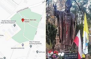 """""""Szukamy ¶wiadków zniewa¿enia pomnika Jana Paw³a II"""". Apel policji"""