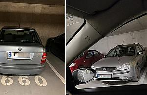 """Awantury w podziemnych gara¿ach. """"Oddam ko³o, jak zap³acisz mi za parking"""""""