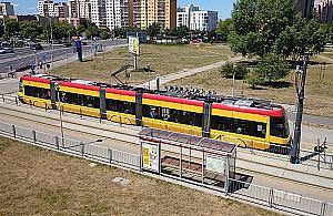"""Tarchomiñski szybki tramwaj? """"Skrócili¶my czas przejazdu o jedn± czwart±"""""""