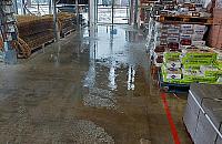 Leroy Merlin i Kaufland zalane. Dwie bardzo podobne awarie jedna po drugiej