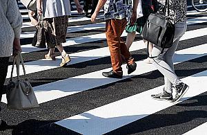 Sejm za pierwszeñstwem pieszych na pasach