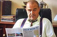 """Wójt Wilkowyj z """"Rancza"""" czyta³... gazetê spó³dzielców z Warszawy"""