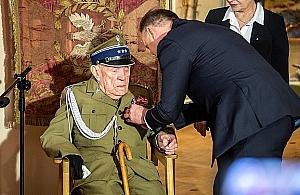 Najstarszy ¿yj±cy powstaniec warszawski koñczy 107 lat