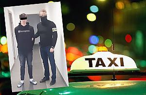 Nie mia³ kasy na taksówkê. Porazi³ kierowcê paralizatorem i d¼gn±³ go w plecy no¿em