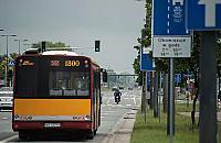 Radzymiñska: ruszy³a zielona fala dla autobusów