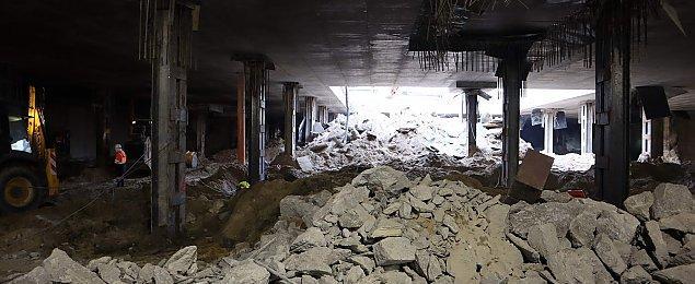 Tragedia na budowie metra. Pracownik nie ¿yje