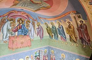 Ciekawostka dla fanów Woli: nowe polichromie w zabytkowej cerkwi