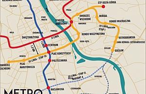 Trzecia linia metra: czemu nie zaczn± na Mokotowie?