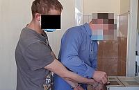 """25-letni """"zawodowy"""" z³odziej w rêkach wolskiej policji. Us³ysza³ dwana¶cie zarzutów"""