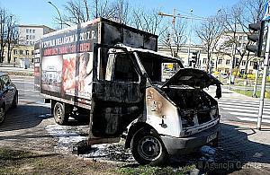 Sp³onê³a antyaborcyjna furgonetka. Prokuratura rozpoczyna ¶ledztwo