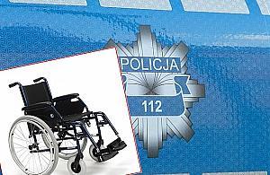 Policja szuka ¶wiadków bulwersuj±cej kradzie¿y wózka inwalidzkiego