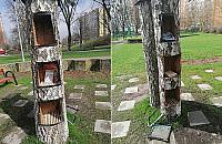 """Spartaczona biblioteczka plenerowa na Chomiczówce. """"Wykonawca nie mia³ pojêcia"""""""