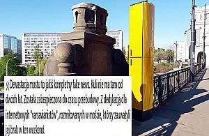 """Drogowcy: """"Dewastacja mostu to fake news"""". ZDM kpi z mi³o¶ników zabytków"""