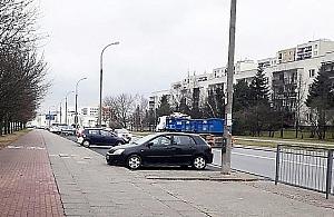 """Nowe miejsca parkingowe na Tarchominie? Drogowcy: """"szkodliwy projekt"""""""