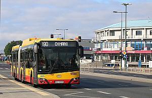 Autobusy przyspieszy³y o dwie minuty. Urzêdnicy zachwyceni Radzymiñsk±
