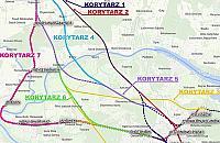 Siedem wariantów tras kolejowych przez powiat legionowski. Konsultacje tylko online