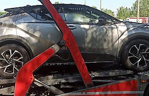 Toyota skradziona w Hiszpanii odnaleziona na Woli