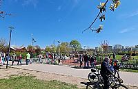 Nowe boiska, piaszczysta pla¿a, kurtyny wodne i samoczyszcz±ca toaleta w parku Górczewska?