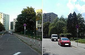 """Turmoncka nie dla parkuj±cych. """"Maj± je¼dziæ rowerami i autobusami"""""""